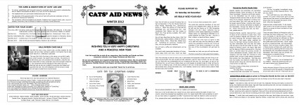 Newsletter Winter 12