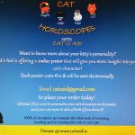 **NEW** Looking for a quirky gift idea? Cats Aid are offering this fun zodiac poster (via email) for €10!